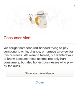 Yelp Fraud