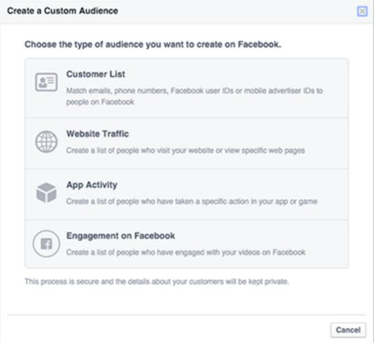 Social Engagement Custom Audiences