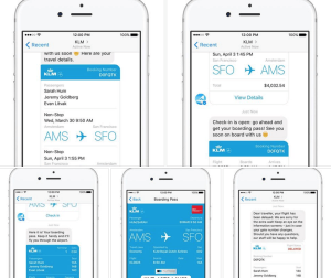 Boarding your flight with Facebook Messenger