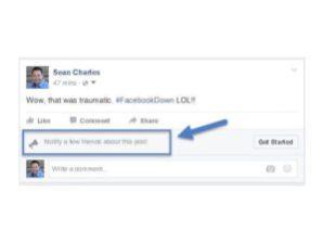 Facebook Notify Button