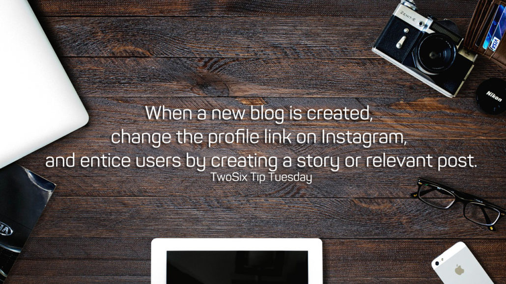 Direct Instagram Followers to Your New Blogs by Changing Profile Link