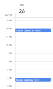 Schedule Engagement Times for Social Media
