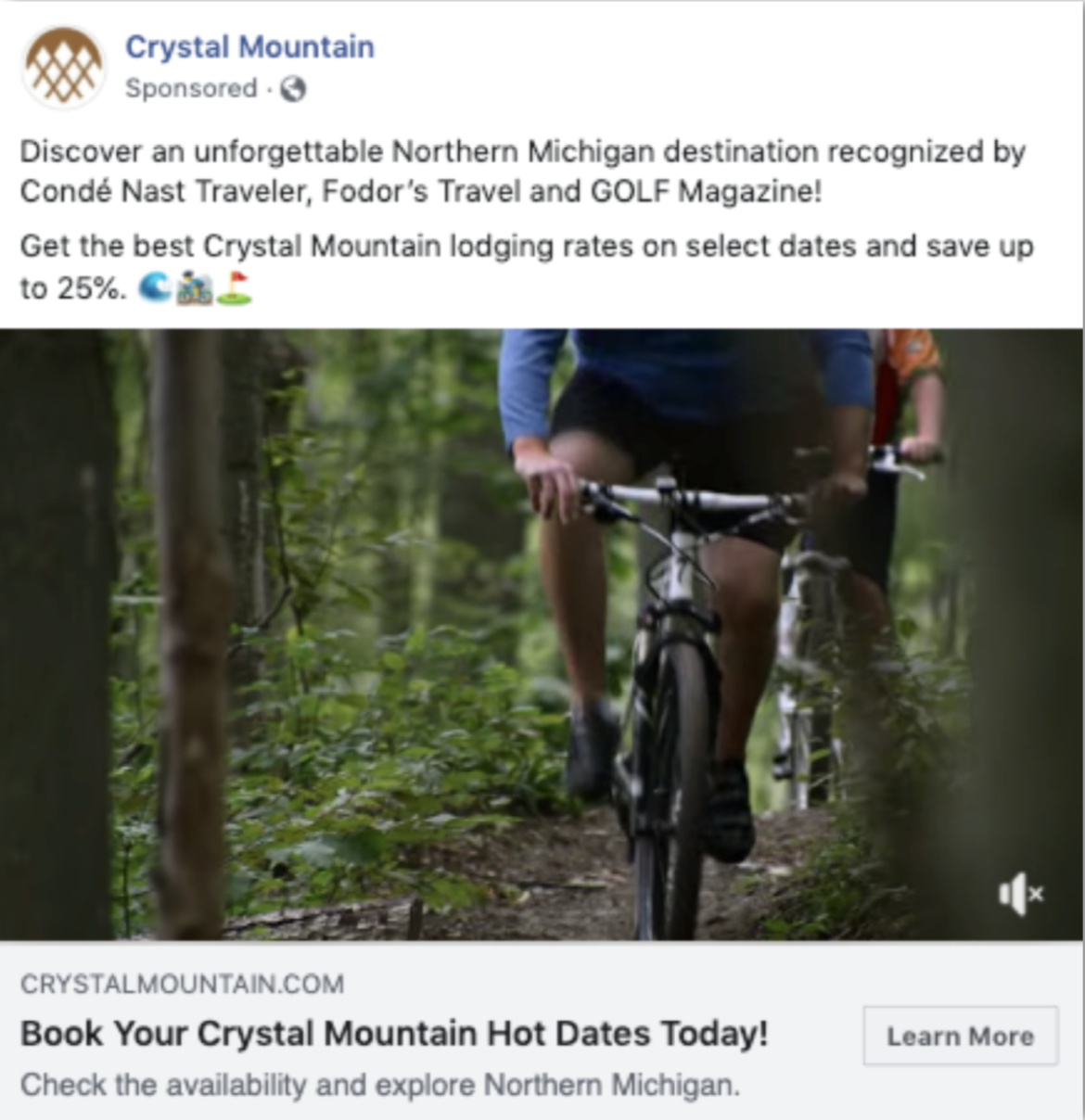 Crystal Mountain Ad